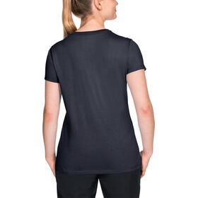 Jack Wolfskin Essential T-Shirt Damen midnight blue